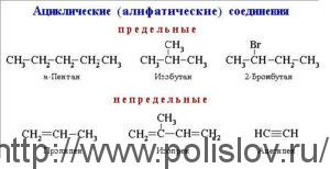 Алициклические соединения