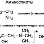 Аминоспирты, гидроксиамины