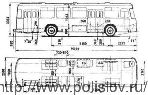Автобус ЛиАЗ-677М